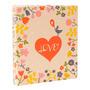 Álbum Infantil Love Bege - 200 Fotos 10x15 Cm - C/ Capa Dura