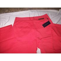 Pantalon Para Caballero Talla 32 Color Coral