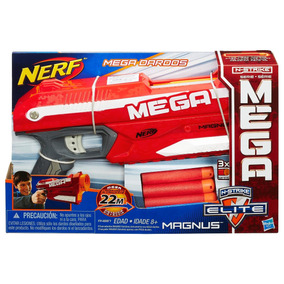 Pistola Lanzadardos Nerf N-strike Elite Mega Magnus Hasbro