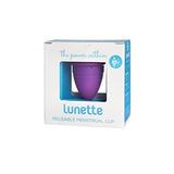 Copa Menstrual Lunette - Violeta - Modelo 2 Para Menstrua...
