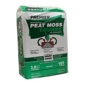 Peat Moss Turba Paca Grande De 107 Lts Y 25 Kilos