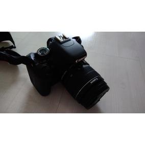 Canon T3i Com Lente 18-55mm Com Filtros, 2 Baterias, Capa,