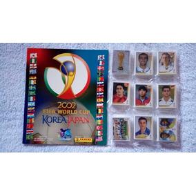 Álbum Copa De 2002 Completo Com As Figurinhas Soltas