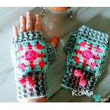 Mitones Tejidos Crochet