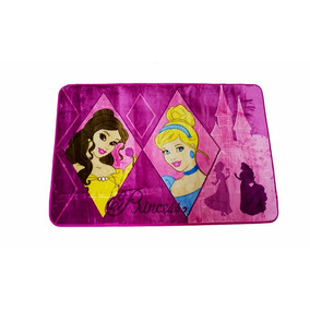 Tapete Orient Disney Princesas Espelhos 80x120 Cm Jolitex