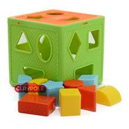 Cubo Didáctico Encastre Formas  Primera Infancia Duravit