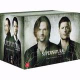 Dvd - Coleção Supernatural 1ª A 11ª Temporada - 65 Discos