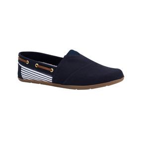 Zapato Comodo Shosh 1087 Azul Dama