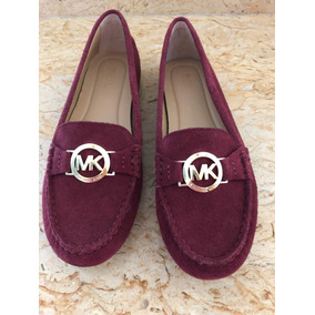 Michael Kors Mocasines Color Vino, Nvos 4.5 Mex