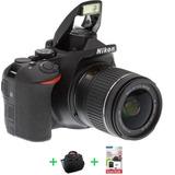 Nikon D5600 Reflex Kit 18-55 Full Hd Wifi 24mp + 32gb+ Bolso
