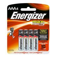 Pilas Energizer Aaa Pack X 4 Ar1 E92 Ellobo
