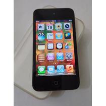 Ipod Touch 32gb 4 Geração Preto Caixa Usado - Não É Celular