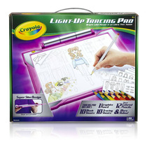 Pizarron Para Dibujar Crayola Light-up Tracing Pad - Pink