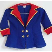 Fantasia Pequeno Príncipe 1/2 Ano Blazer E Coroa!!