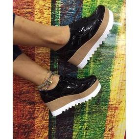 Zapatos De Plataforma Mujer Moda 2017 Charol Envio Gratis