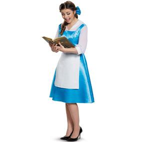 Disfraz De Bella Vestido Azul Adolescente/adulto Xl (14-16)