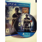 Juego Ps4 Uncharted 4 Cd Físico Impecable Permuto O Vendo