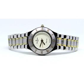 Reloj Nivada Swiss Millonaire Original Con Numeración Romana