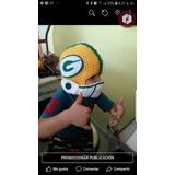 Casco Tejido Nfl Gorro Green Bay Packers Empacadores