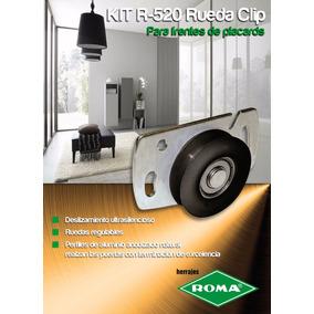 Kit De Placard X 3.00mt Herrajes Roma