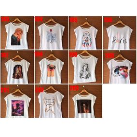 Kit T-shirt Feminina 20 Pç Escolha As Maxi Estampas 39284b5841b6e