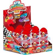 Ovo Surpresa Carrinhos Toy Com 18 Un - Fampar
