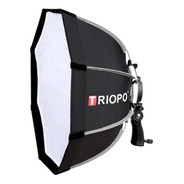 Softbox Hexa 90cm C/ Rotula P/ Flash Zapata Triopo 6 Cuotas!