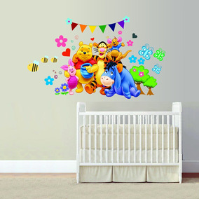 Vinilo Decorativo Infantil Winnie The Pooh 2 Habitacion Bebe