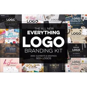 Mega Bundle Paquete De Recursos Para Creación De Logos