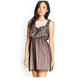 Vestido Forever 21 Talle S - Nuevo Con Etiqueta - Usa -