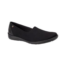Zapatos Bonitos Hispana Color Negro Textil Co81 A