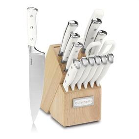 Set De Cuchillos C77wtr-15p Blanco 15 Piezas-cuisinart