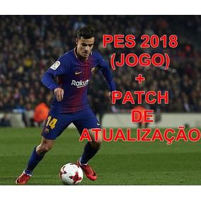 Pes 2018 + Patch De Atualização Ps3 Midia Digital!