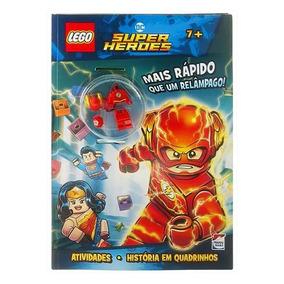 Livro Infantil - Lego - Dc Comics Superheroes - Mais Rápido