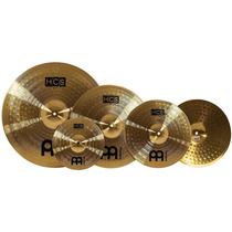 Set De 5 Platillos Hi Hats Ride Crash, Meinl Hcs14/16/20+10