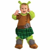 Disfraz Shrek Para Niño De 2-4 Años