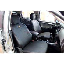 Capas De Bancos Automotivos Couro P/ S10 Cabine Dupla 2015