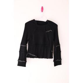 Suéter/sweater/blusa/malha Manga Longa Roxy Preto)