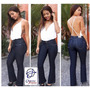 Calça Boot Cut Jeans Natural C Stretch 294 Flare Quero Jeans