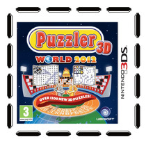 Puzzler World 2012 3d Nintendo 3ds Nuevo Sellado Cdv