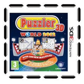 Puzzler World 2012 3d Nintendo 3ds Nuevo Sellado Cdv