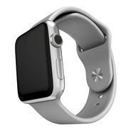 3 Pulseras Silicona Compatible Con Apple Watch Medida 38/40