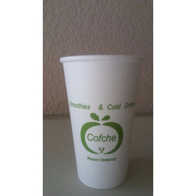 Vaso Para Café Impreso A 1 Tinta 500 Piezas Cualquier Medida