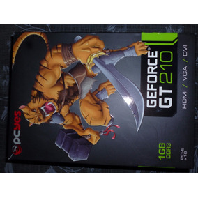 Placa De Vídeo Pcyes Geforce Gt 210 Ddr3 1gb