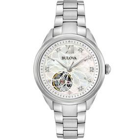 Reloj Bulova Diamond Automatic 96p181 Tienda Oficial Bulova