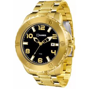Relógio X-games Dourado Masculino Xmgs1026 P2kx Original