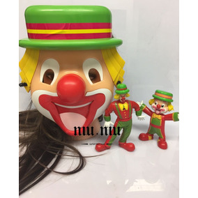 2 Bonecos +1 Máscaras Palhaço Patati E Patata Nova Valor Uni