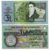 Guernsey - Billete 1 Libra 2013 - Nuevo!!!!!