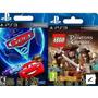 Lego Piratas Del Caribe Y Cars 2 Ps3 - Digitalgames- Entrega