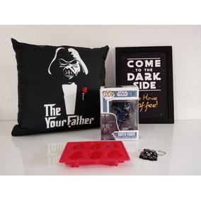 Star Wars Darth Vader Funkopop + Almofada + Forma + Chaveiro